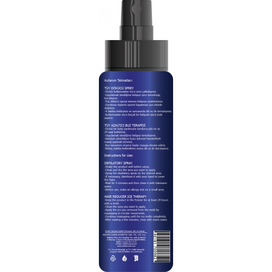 Masfem Caren Cold Therapy Effect Depilatory Spray